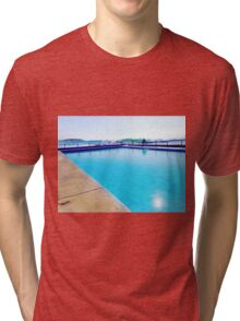 Blue Pool Tri-blend T-Shirt