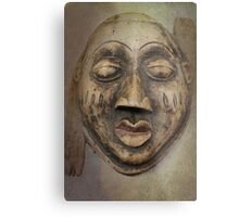 old wooden mask Metal Print