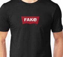 """Logo Hijack """"Fake Denim"""" Unisex T-Shirt"""