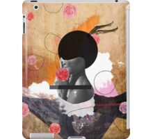 Contemporary fashionistas floral collage iPad Case/Skin