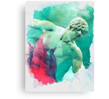 The Discobolus of Myron Canvas Print