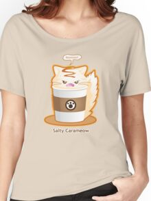 Purrista Pawfee: Salty Caramel Kitty Coffee Women's Relaxed Fit T-Shirt