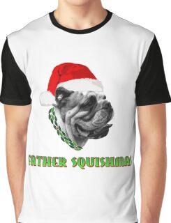 Father Squishmas Bulldog Graphic T-Shirt