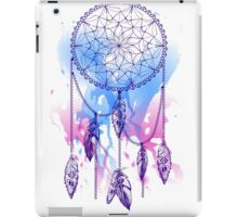 dream catcher with feathers with watercolor effect iPad Case/Skin