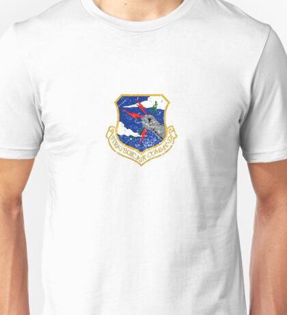 Strategic Air Command - Small Color Logo Unisex T-Shirt