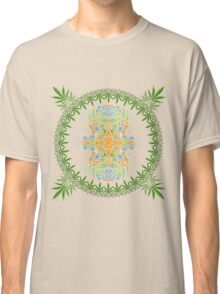 Psychedelic cannabis jungle spirit Classic T-Shirt