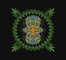 Psychedelic cannabis jungle spirit Unisex T-Shirt