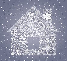Snowflake the house by Aleksander1
