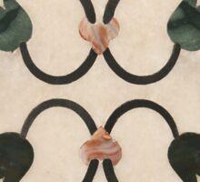 Taj Mahal Marble Inlay Sticker
