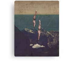 High Diving Canvas Print
