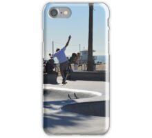 Skateboarder at Venice Beach iPhone Case/Skin