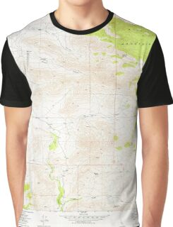 USGS TOPO Map California CA Cane Canyon 288903 1972 24000 geo Graphic T-Shirt