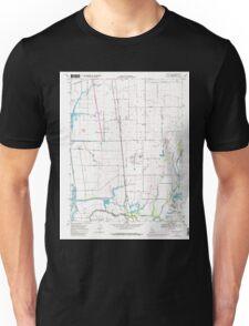 USGS TOPO Map California CA Bruceville 100524 1968 24000 geo Unisex T-Shirt