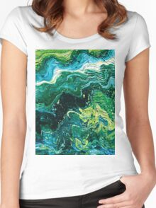 Fresh Greens Women's Fitted Scoop T-Shirt