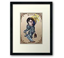 Tiny Fantasy Adventures: Paladin Framed Print