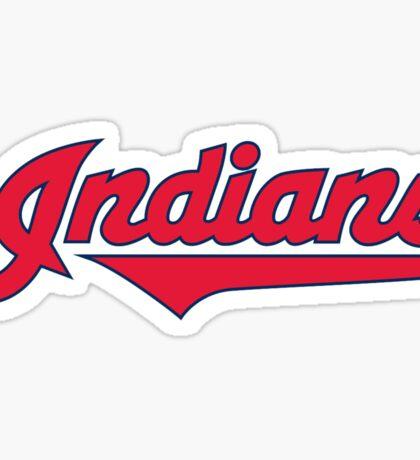 Cleveland Indians World Series 2016 Sticker