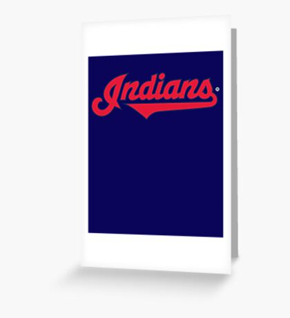 Cleveland Indians World Series 2016 Greeting Card