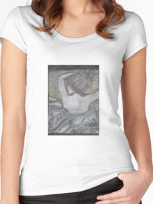 """""""The Tattoo"""" Women's Fitted Scoop T-Shirt"""