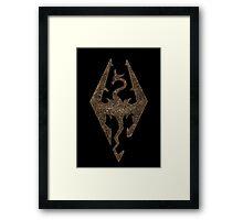Skyrim - Empire  Framed Print