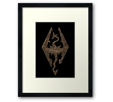 Skyrim - Empire  Framed Print