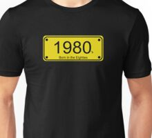 Born in the 80's T-shirt Unisex T-Shirt