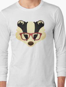 Hipster Badger T-Shirt