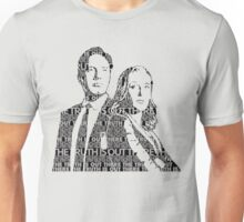 The Truth Is Out There- Silhouette  Unisex T-Shirt