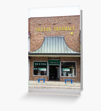 Pharmacy, Walnut Ridge, AR Greeting Card