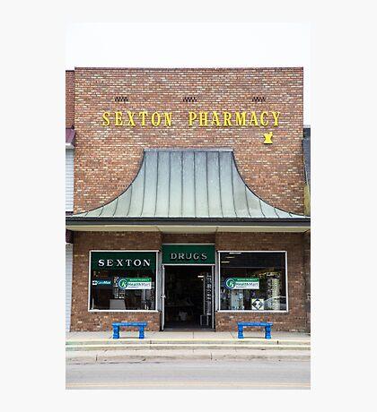 Pharmacy, Walnut Ridge, AR Photographic Print
