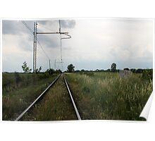 train rails Poster