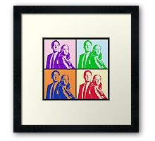 X-Files Meets Andy W Framed Print