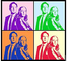 X-Files Meets Andy W Photographic Print