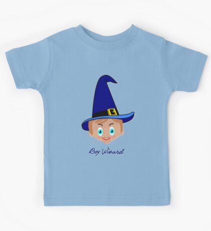 Toon Boy 6 Wizard T-shirt design Kids Tee
