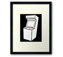 Arcade Machine Framed Print
