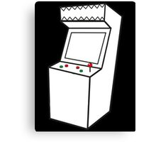 Arcade Machine Canvas Print