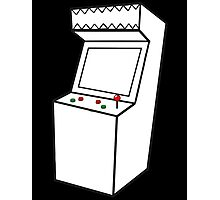 Arcade Machine Photographic Print