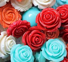 colored roses stones by spetenfia