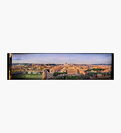 "Rome ""The Eternal City"" Panoramic Photographic Print"