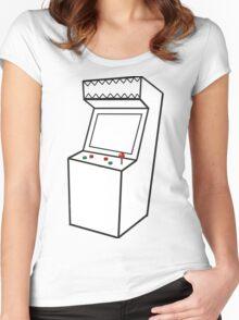 Arcade Machine Women's Fitted Scoop T-Shirt
