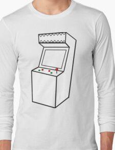 Arcade Machine Long Sleeve T-Shirt