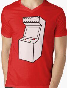 Arcade Machine Mens V-Neck T-Shirt