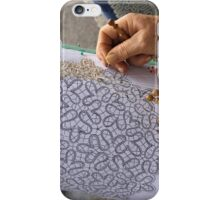 lace making iPhone Case/Skin