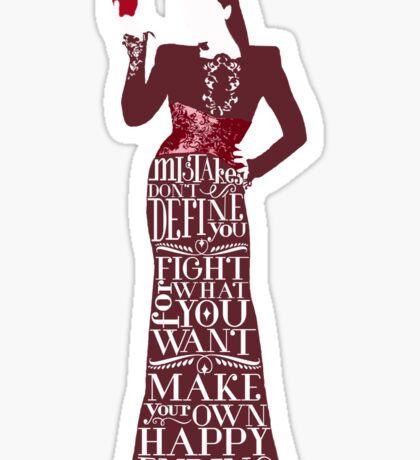 Regina Mills Make Your Own Happy Ending Sticker