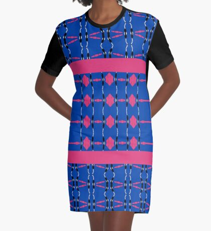 In Shapes Graphic T-Shirt Dress