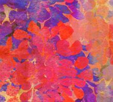 floral composition Sticker