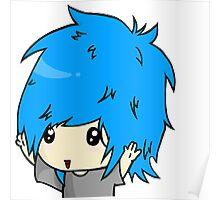 Chibi Boy Blue  Poster
