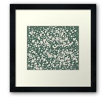 In a field of daisies Framed Print