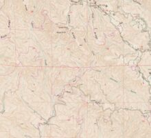 USGS TOPO Map California CA Castle Rock Ridge 302647 1955 24000 geo Sticker
