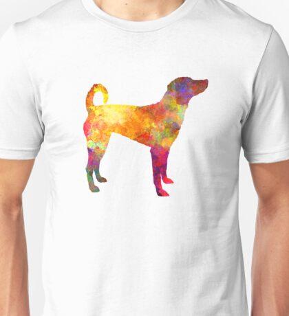 Austrian Pinscher in watercolor Unisex T-Shirt