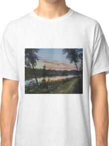 River Sunset Classic T-Shirt